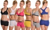 Angelina Bras or Boxer Shorts in Regular and Plus Sizes (6-Pack): Angelina Racerback Bras or Boxer Shorts (6-Pack). Available in Regular and Plus Sizes.