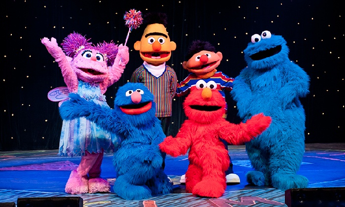 """Sesame Street Live: Make A New Friend"" - U.S. Bank Arena: Sesame Street Live ""Make A New Friend"" at U.S. Bank Arena on April 14 or 15 at 7 p.m. (Up to 44% Off)"