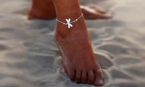 Bracelet cheville Libellule