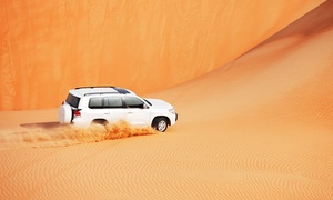 Luxury Tours: VIP Desert safari with home or hotel pick up by car from Dubai and Sharjah by Luxury Tours (Up to 66% Off)