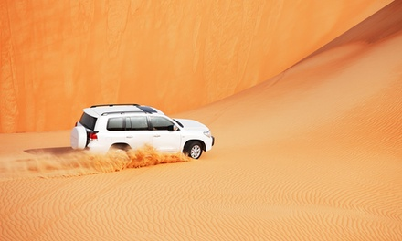 VIP Desert Safari with Home or Hotel Pick Up from Dubai and Sharjah with Luxury Tours (Up to 66% Off)