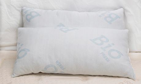 Pack 2 almohadas visco copos