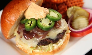 Teakwoods Tavern and Grill: $17 for $30 Worth of American Bar Food and Drinks at Teakwoods Tavern & Grill