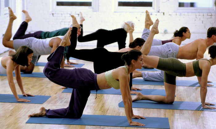 Hot Yoga Naperville - Downtown Naperville: One or Two Months of Unlimited Hot-Yoga or Power Vinyasa Classes at Hot Yoga Naperville (Up to 54% Off)