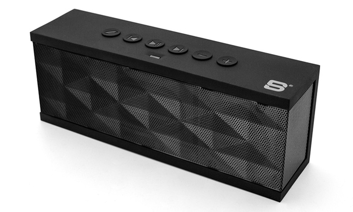 Save 86% on SoundBot SB571 Portable Wireless Bluetooth Speaker with 12W Output HD Bass