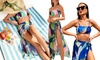 Bikini mit Strandrock in der Farbe und Größe nach Wahl