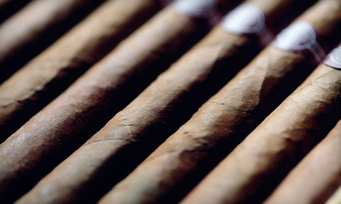 Charlotte Cigar Club - The South End: Cigar Package with Three Cigars or $25 for $50 Worth of Cigars and Accessories at Charlotte Cigar Club