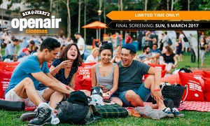 Ben & Jerry's Openair Cinema - Auckland: Mate or Date Night Movie Package for One ($23) or Two People ($46) at Ben & Jerry's Openair Cinema