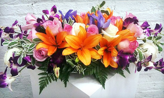 Hibiscus Flowershop - Prospect Heights: Mix-It-Up Bouquet or $20 for $40 Worth of Flowers at Hibiscus Flowershop