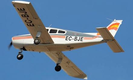 Vuelo en avioneta para 1 persona con ruta a elección desde 69 € en Electrotécnica