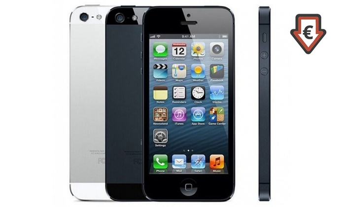 apple iphone 5 16 go reconditionn groupon. Black Bedroom Furniture Sets. Home Design Ideas