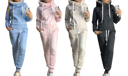 Casual Two-Piece Tracksuit
