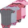 Infant Girls' Bodysuits (4-Pack)