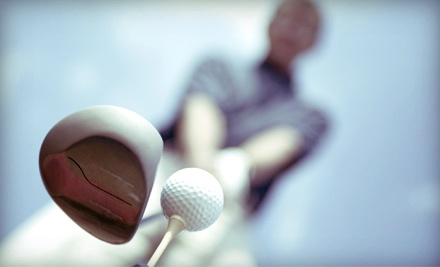 One, Two, or Four Golf Lessons with Video Swing Analysis at Smock Driving Range-MZ III Golf Academy (Up to 51% Off)