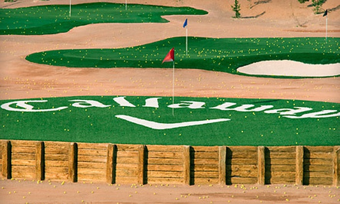 Callaway Golf Center - Las Vegas: $18 for a Nine-Hole Round with a Cart Rental and 90 Range Balls at Callaway Golf Center (Up to $51 Value)