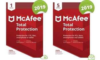 McAfee One-Year Total Protection