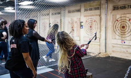 One- or Two-Hour Axe-Throwing Session for Two, Four, Six, or Ten at Bury The Hatchet (Up to 18% Off)