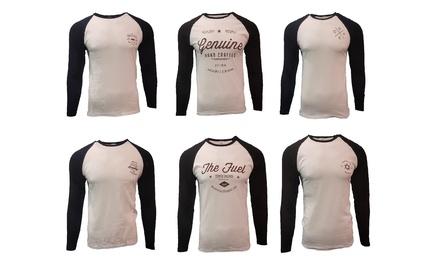 TwoPack of Men's Raglan LongSleeve TShirts