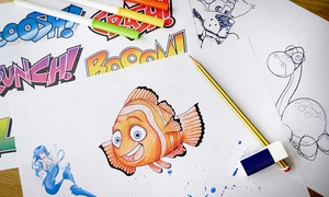 Dynamic E-Course: Learn-to-Draw Online Course for Kids from Dynamic E-Course (98% Off)