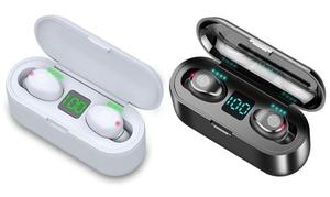 Écouteurs sans fil avec powerbank