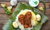 Süd-Indisches 3-Gänge-Menü