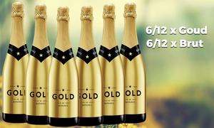 Wijnmarkt: Commande en ligne et livraison à domicile : 6 ou 12 bouteilles de Cava Codorniu Rondel Gold Brut de Wijnmarkt.be