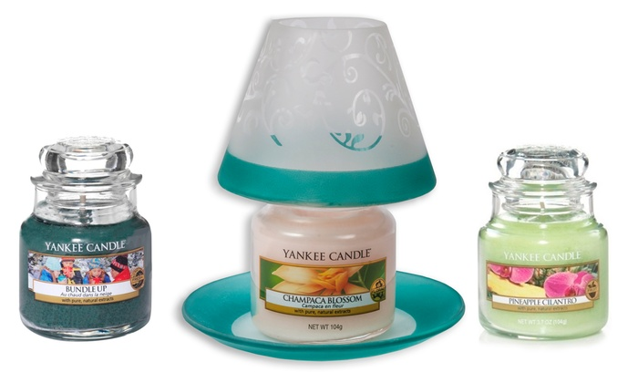 Candele e paralumi yankee candle groupon goods for Mobili yankee candle