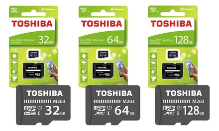 Toshiba Exceria MicroSD Card