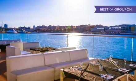 Menú junto al mar para 2 o 4 con 3 entrantes, principales, barra libre y entrada a club desde 24,90 € en Il Rosso Puerto