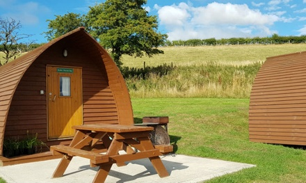 North Yorkshire: 2 or 3Night Big Chief Wigwam Stay for Two or Four with Fairy Lights at Humble Bee Farm