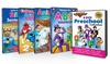 Preschool DVD (8-Piece) and Board Book (4-Piece) Set by Rock 'N Learn