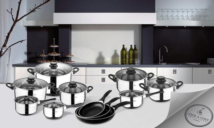 san ignacio topf und pfannenset groupon goods. Black Bedroom Furniture Sets. Home Design Ideas