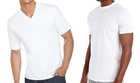7-Pack Hanes Mens Crew Neck or V-Neck Undershirts