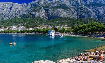 grafika Chorwacja-Makarska: 8-dniowe wczasy