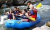 Big River Raft Trips - Rio Grande Gorge Visitor Center Parking Lot: Rio Grande Gorge Whitewater Rafting from Big River Raft Trips (Up to 43% Off). Two Options Available.