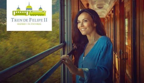 Viaje en el tiempo, recorre la historia desde Principe Pío hasta El Escorial en tren desde 18,95 € en Tren de Felipe II