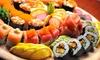 Hashi - Parma: Sushi box d'asporto con 40 o 50 pezzi misti al ristorante Hashi (sconto fino a 51%)