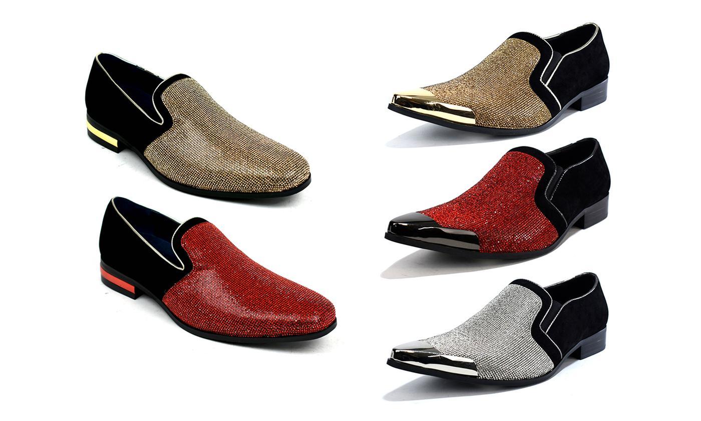 Men's Sparkling Glitter Party Shoes