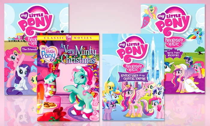 My Little Pony 4-DVD Set: My Little Pony 4-DVD Set. Free Shipping and Returns.
