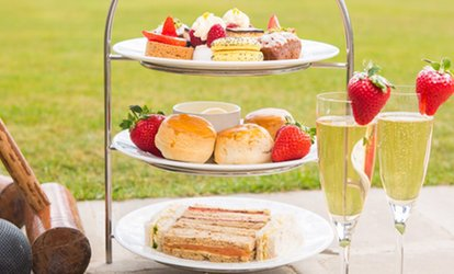 image for Traditional or Sparkling Afternoon Tea for Two or Four at The Tavern Bar and Restaurant