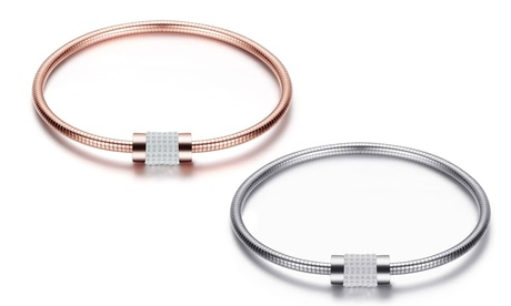 1 o 2 pulseras pave decoradas con cristales de Swarovski®
