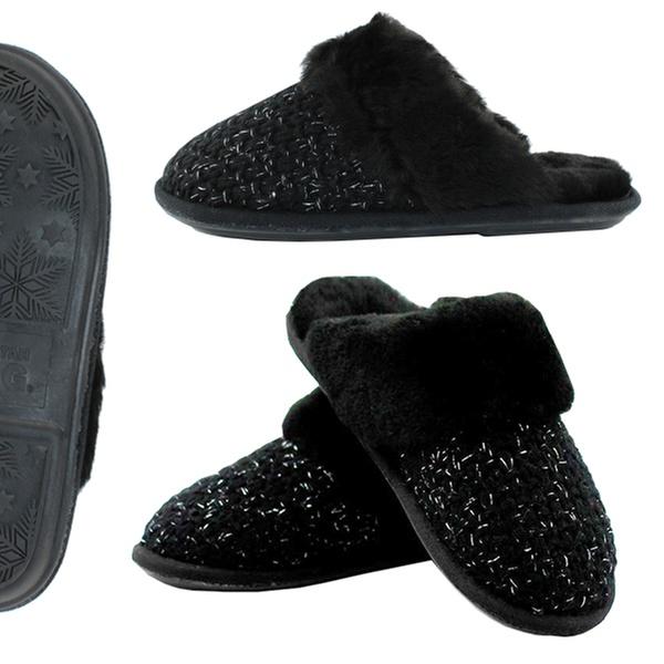 e3e5a53fd09 $49 for Women's Waratah UGG Sheepskin Knit Scuffs (Don't Pay $169)