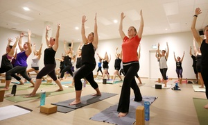 Moksha Yoga Brantford: 60 Days of Unlimited Hot Yoga and Barre Classes from Moksha Yoga Brantford (Up to 79% Off