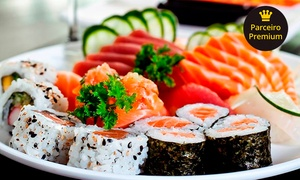 Degust Sushi: Rodízio japonês para 1, 2 ou 4 pessoas no Degust Sushi – Jardim Guanabara