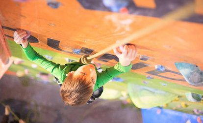 image for One or Three Kid's Indoor Climbing Sessions for One or Two at The Foundry Climbing Centre (Up to 60% Off)