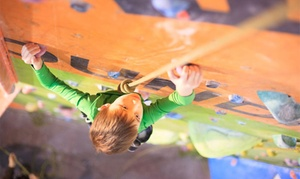 The Foundry Climbing Centre: One or Three Kid's Indoor Climbing Sessions for One or Two at The Foundry Climbing Centre (Up to 60% Off)