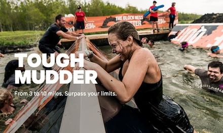 Registration for One to Tough Mudder 5K or Tough Mudder Classic Atlanta on November 9 – 10, 2019 (Up to 42% Off)