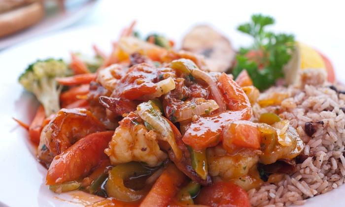Le Lambi Miami - The Hammocks: $18 for $40 Worth of Carribean Food — Le Lambi Restaurant