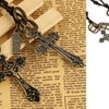 Trend Matters Orthodox Cross Pendant Necklace