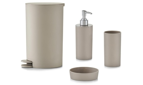 Set de 4 accesorios de baño Zeller